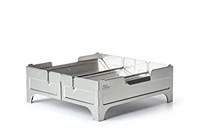 WOLF GRIZZLY Fire Safe; Portable, Foldable Fire Pit for Camping Cooking and Backyard Bonfires from Wolf and Grizzly