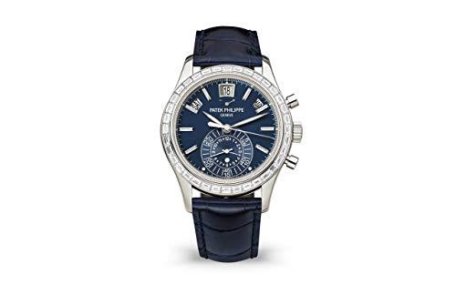 Patek Philippe Complications Platinum 5961P-001 with Matte Blue Opaline dial