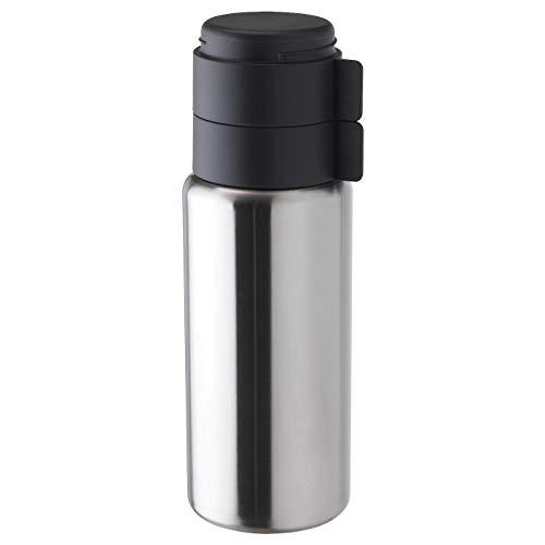Vakuumflasche aus Stahl, H 29 cm, V 1 l,