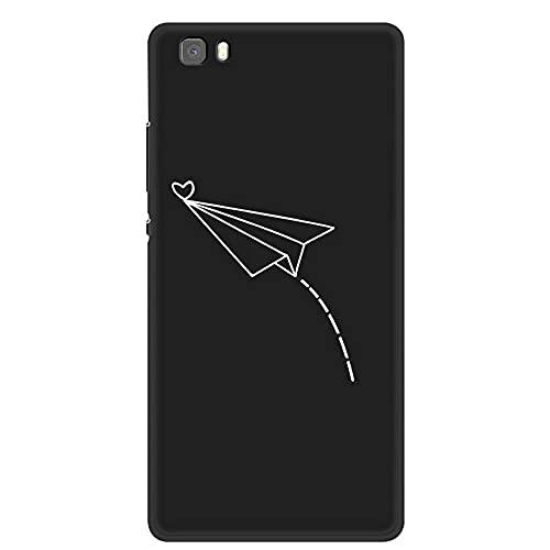 HLKRK Coque pour Huawei P8 Lite ALE-L21 Phone Case TPU Soft Case Cover 16