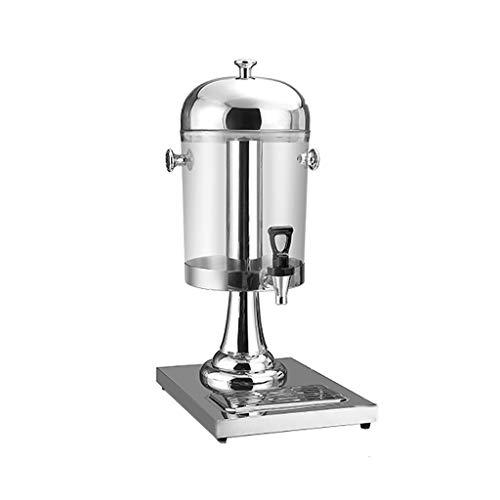 MMM@ Beber dispensador restaurante Hotel Inicio Jugo Vino contenedor de almacenamiento con grifo simple y doble Tres jugo de la máquina pueden mantener Aislamiento contra el frío de acero inox