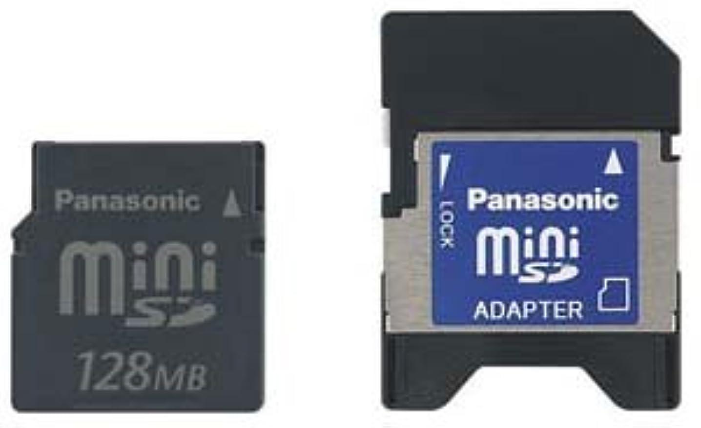 優勢実際の従来のパナソニック ミニSDメモリーカード128MB RP-SS128BJ1K