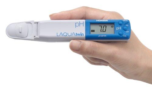 Horiba 3999960122 Model pH-11 Compact pH Meter, 1.5