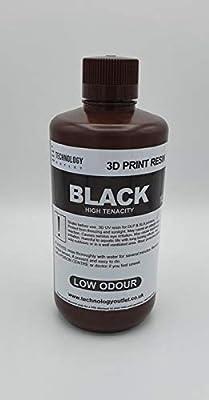 Technology Outlet Premium 3d Printer Resin (black High Tenacity)
