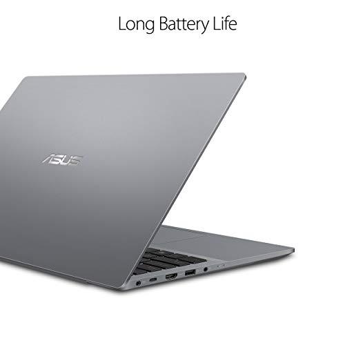 ASUS ExpertBook P5440 Thin & Light Business Laptop, 14? FHD, Intel Core i5-8265U Processor, 256GB PCIe NVMe SSD, 8GB DDR4 RAM, Windows 10 Pro, Fingerprint, TPM, Mgcote Slab Grey, P5440FA-XS51