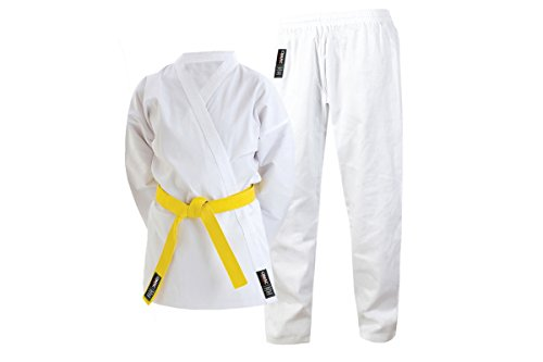 Cimac Giko - Traje de Karate (160 cm), Color Blanco