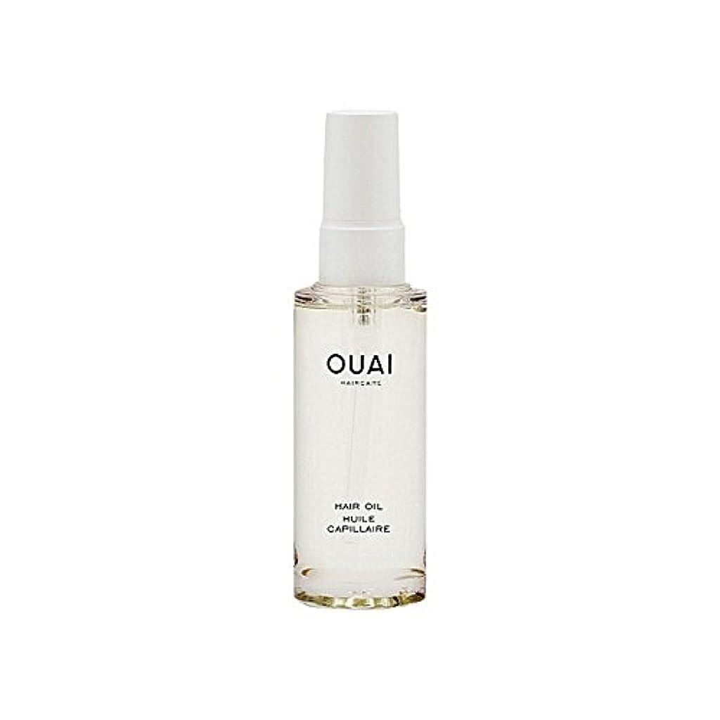 毎回不承認方言Ouai Hair Oil 50ml (Pack of 6) - ヘアオイル50ミリリットル x6 [並行輸入品]