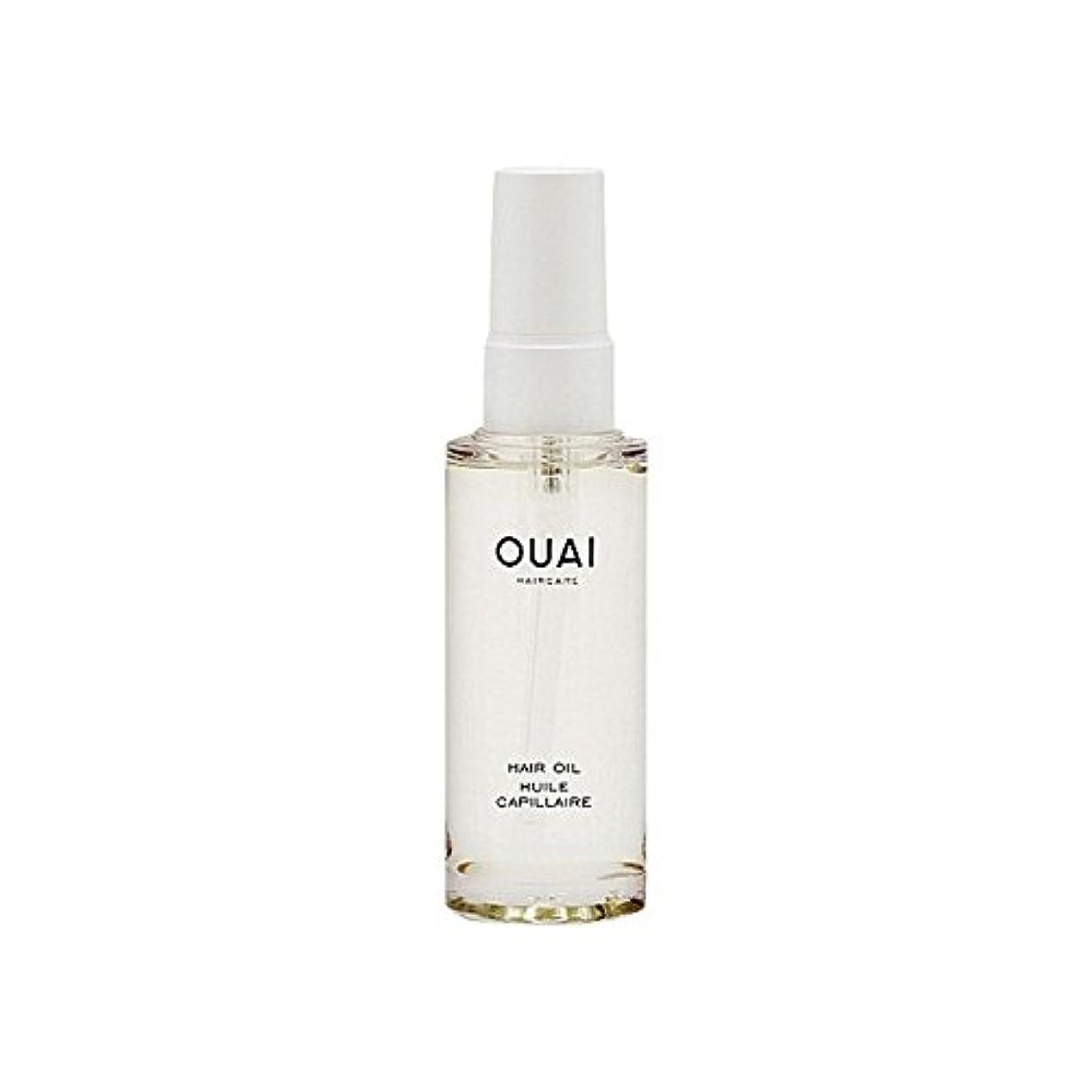 スカウト処分したフェデレーションヘアオイル50ミリリットル x2 - Ouai Hair Oil 50ml (Pack of 2) [並行輸入品]