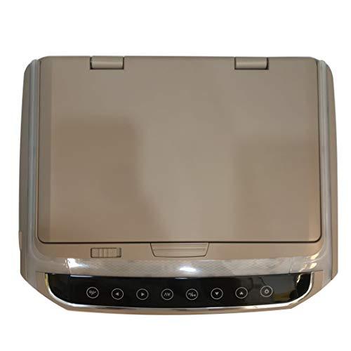 RVD10HD-BG Lecteur DVD à moniteur rabattable de 10,1 po, 12 V, HDMI, USB, Jeux, Moniteur de montage et transmission infrarouge, DEL (800 * 480 ppp)