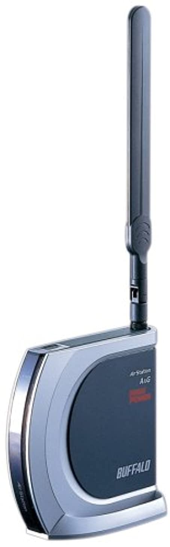 漂流のヒープメイトBUFFALO WHR-HP-AMPG ハイパワー無線LANルータ