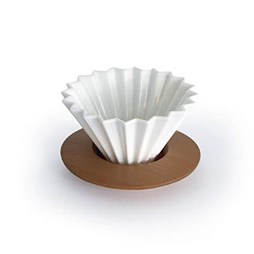 SimpleReal TAMAGO コーヒードリッパー 1~2杯用 セラミック.ホワイト