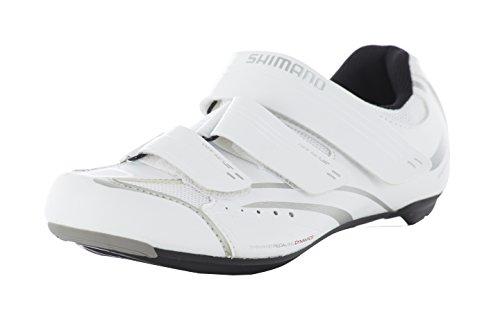 SHIMANO per Bici da Corsa Scarpe da Ciclismo da Donna Sh WR32Gr. 4SPD SL 3klettverschl, Donna, Fahrradschuhe Rennradschuhe SH-WR32 GR. 4 SPD-SL 3 Klettverschl, Multicolore, 43