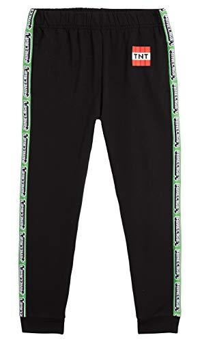 MINECRAFT Pantaloni Tuta Bambino, Abbigliamento Sportivo Ragazzo Pantalone Tuta da Ginnastica Bambini, Tute Sportive Cotone, Idee Regali per Ragazzi,