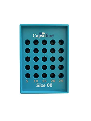 Size 00 Capsule Holding Tray by Capsuline
