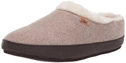 Freewaters Women's Chloe House Shoe Slipper Happy Arch Support and Durable Indoor/Outdoor Sole, Wheat, XL (10.5-11.5) Medium US