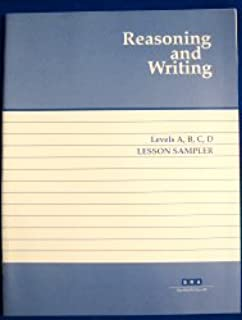 Reasoning and Writing (Lesson Sampler, Levels A, B, C, D)