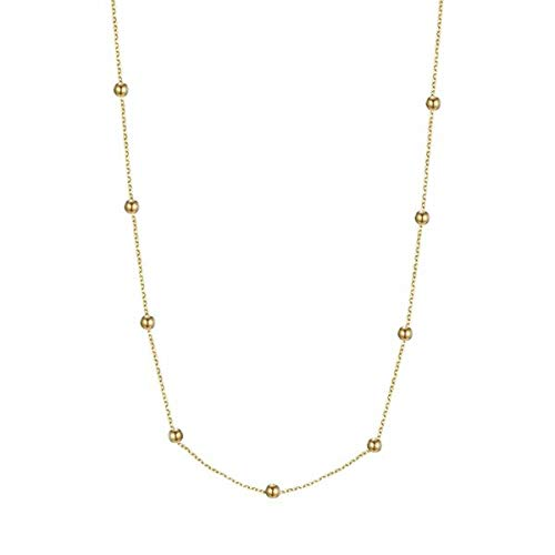 Love the dots ketting goud