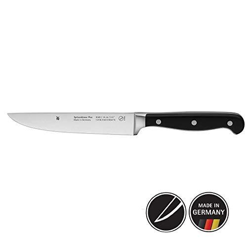 WMF Spitzenklasse Plus Zubereitungsmesser 25 cm Spezialklingenstahl, Messer geschmiedet, Performance Cut, Kunststoff-Griff vernietet, Klinge 14 cm