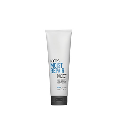KMS MOISTREPAIR Revival Creme Restore Moisture, Weightless Body & Shine - Control Static, 4.2 oz