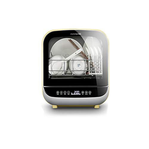 CLING Mini Geschirrspüler,Rotierendes Hochdrucksprühsystem, Transparenter Und Herausnehmbarer Wassertank,Tischgeschirrspüler
