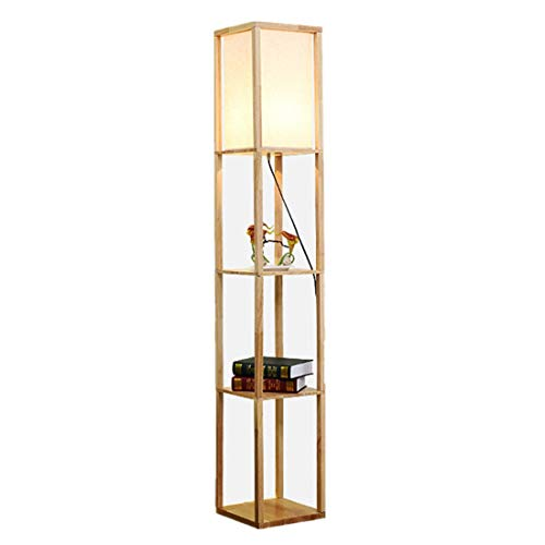 LED Shelf Floor Lamp Modern Conventional Lamp Warm Light for Living Room and Bedroom,Ship from US Warehouse