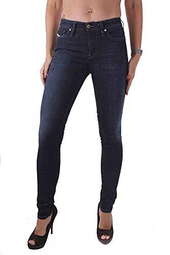 Diesel Skinzee - Pantalones vaqueros para mujer, color azul azul 24W