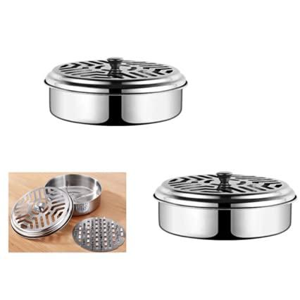 Supporto a Spirale per porta zampirone metallo per zanzare Supporto per incenso in Legno di Sandalo...