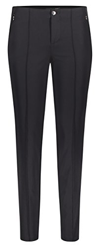 MAC Damen Hose Anna Zip New 5293 schwarz 090 (40/30)