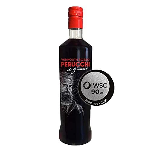 Vermouth Perucchi Rosso – Vermut rojo - 15% Alcohol – Elaborado en España – Sin envejecimiento – Selección Vins&Co - 1000 ml