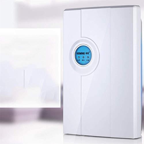LCZ Energy Star Luftentfeuchter Mit Pump Up To322 Environments Qm, 2200Ml Compact (52 Ounces) Quiet Kapazität Mini Luftentfeuchter Für Keller, Zimmer, Abstellraum, Automatische Abschaltfunktion,Weiß