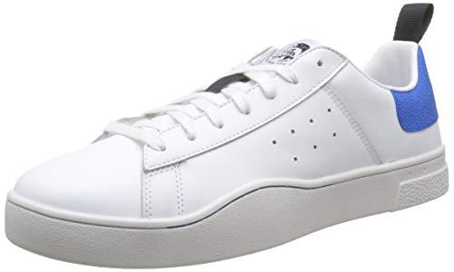 Diesel Herren S-clever Low Sneaker, Weiß H4034 H4034, 46 EU