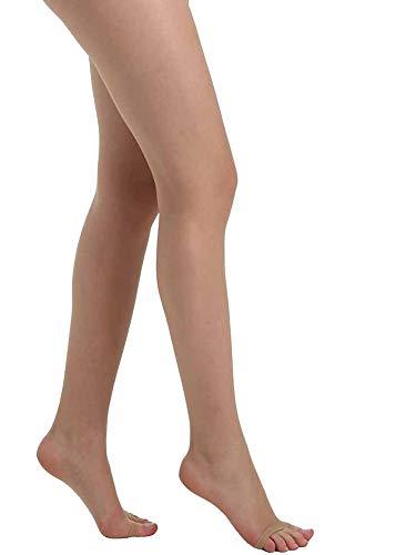 Pamela Mann zehenlose Strumpfhose erhältlich in XL, XXL, XXXL-Nude-XL