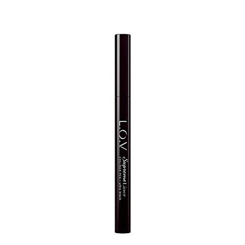 L.O.V Make-up Augen Supremeliner Eyeliner Pen Nr. 100 Fearless Black 1 ml