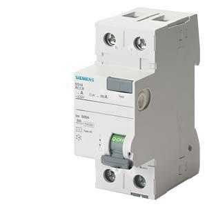 Interrupteur différentiel 30 mA 40 A Type AC