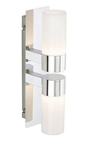 Briloner Leuchten LED Badezimmerlampe, Wandleuchte, Badlampe, Badleuchte, Badezimmerleuchte, LED Badleuchte, Badleuchten Decke, Badezimmerlampe Decke, Badleuchten Wand, Badlampe Spiegel