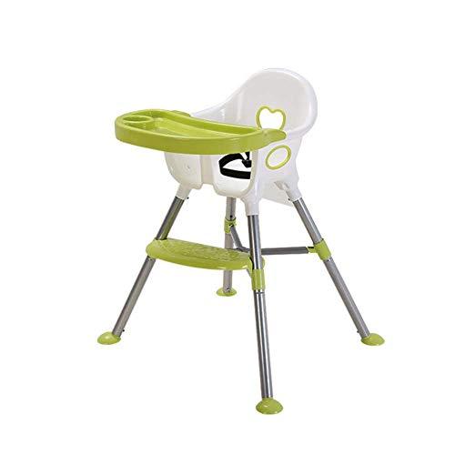 NMDD Trona bebé Ajustable portátil bebé cumpleaños Juguete, Plato de plástico, cojín de Asiento Suave, Refuerzo de Viaje para niños