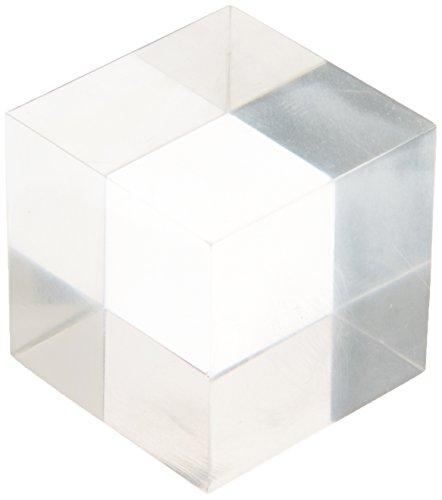 Deflecto AB150 - Block acrílico, 50x50x50 mm