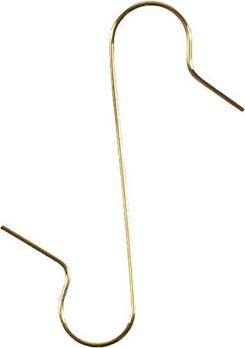 Weihnachtsschmuck Aufhänger - 50 Stück, Gold