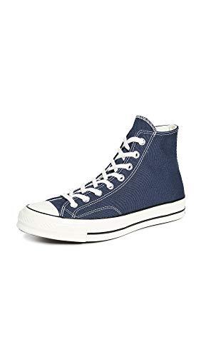 Converse Unisex-Adult Chuck 70 Sneaker, Obsidian/Egret/Black, 42.5 EU