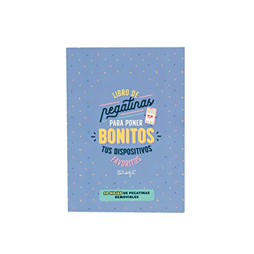 Mr. Wonderful Libro de pegatinas para poner bonitos tus dispositivos favoritos, WOA11093ES