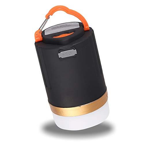 PROZOR 3 in 1 Lanterna da Campeggio con Telecomando + Power Bank + Luce Notturna Portatile con Gancio Magnetico10W Lampada Campeggio 3 modalità Lanterna da Tenda Ricaricabile per Campeggio Escursione