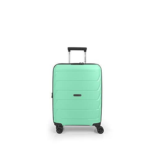 Gabol - Sakura | Maleta de Cabina Duras de 39 x 55 x 22 cm con Capacidad para 45 L de Color Verde