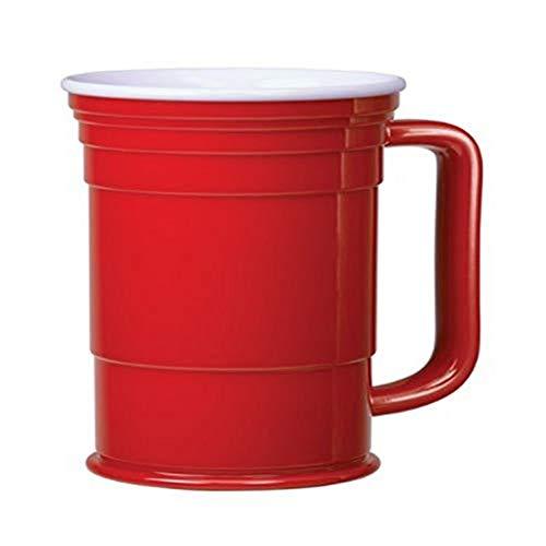 Red Cup Living 24 oz Mug with Handle Reusable Cup