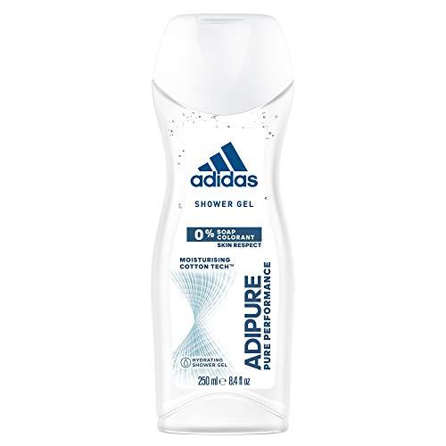 adipure Douchegel voor dames 3-in-1 – zachte reiniging van lichaam, haren en gezicht – pH-huidvriendelijk – 1 x 250 ml