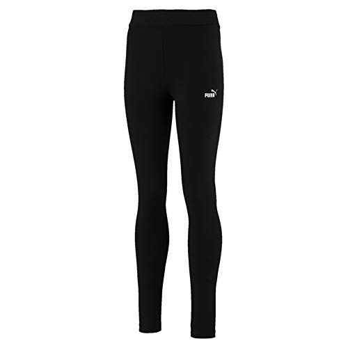 PUMA Mädchen ESS Leggings G Hose, Cotton Black, 140