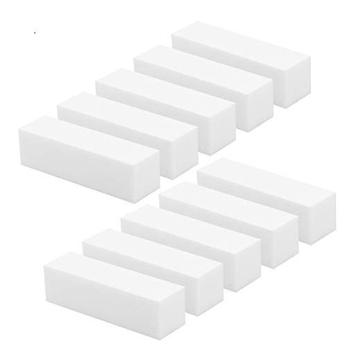 Newkeen 10 Pack Bloque Lijado Blanco Lima Esponja