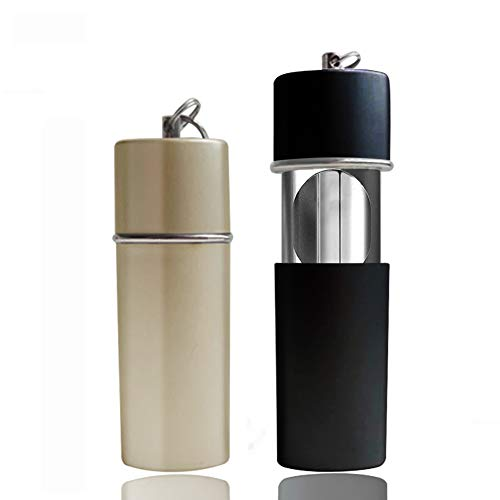 Taschenascher 2 Stück Zigaretten Taschenaschenbecher Tragbarer Aschenbecher Reiseaschenbecher Mini Zigaretten Aschenbecher AußenEinsatz