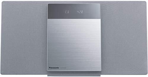 パナソニック ミニコンポ FM/AM 2バンド Bluetooth対応 デジタル5チェンジャー USBメモリー録音機能搭載 SC-HC420-S