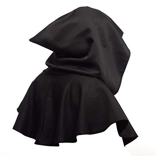 Cape con capucha para cosplay y disfraz unisex con capucha