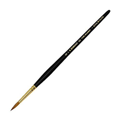 100 Series # 6 Rembrandt watercolor brush (japan import)